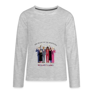 The Order of the Pantsuits: Hillary's Army - Kids' Premium Long Sleeve T-Shirt