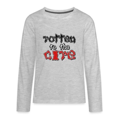 Rotten To The Core - Kids' Premium Long Sleeve T-Shirt