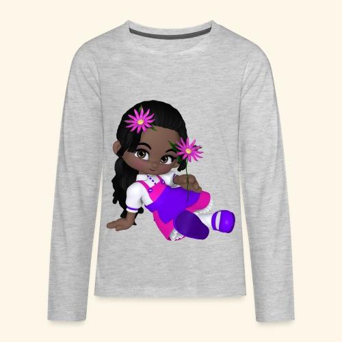 african dall - Kids' Premium Long Sleeve T-Shirt