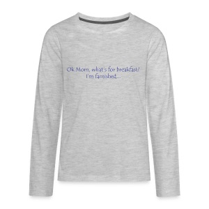 Ok Mom... - Kids' Premium Long Sleeve T-Shirt