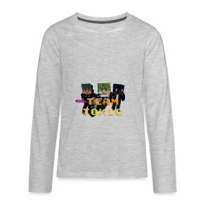 TeamToxic Merch Design 1 - Kids' Premium Long Sleeve T-Shirt
