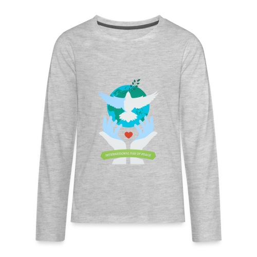 Day of Peace - Kids' Premium Long Sleeve T-Shirt