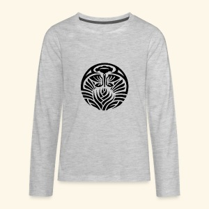 Tribal Tropic - Kids' Premium Long Sleeve T-Shirt