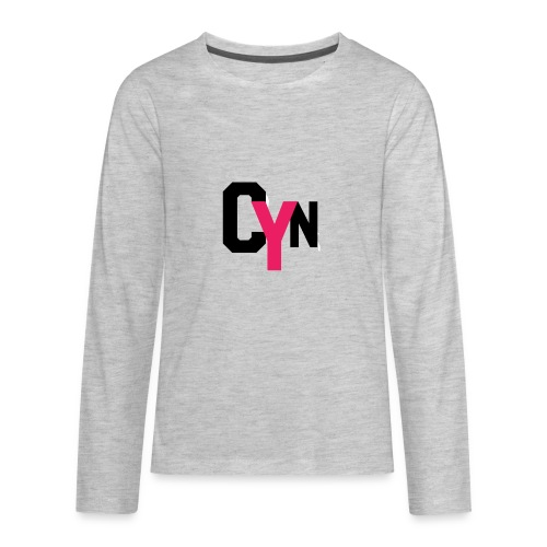 CYN logo - Kids' Premium Long Sleeve T-Shirt