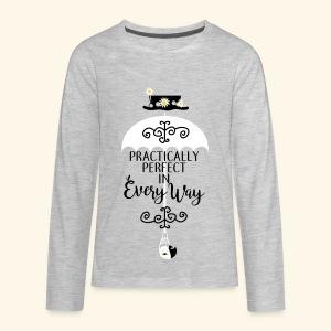 Practically Simple - Kids' Premium Long Sleeve T-Shirt