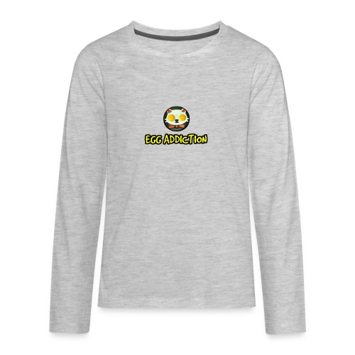 Egg Adiction - Kids' Premium Long Sleeve T-Shirt