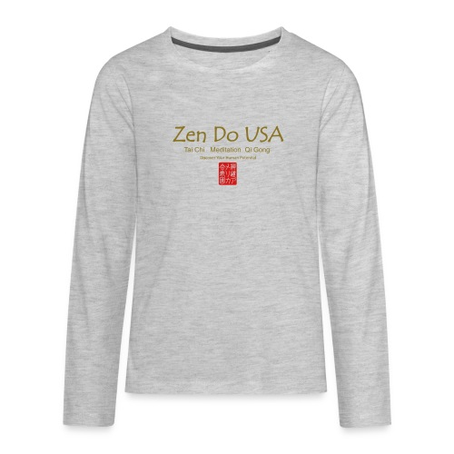 Zen Do USA - Kids' Premium Long Sleeve T-Shirt