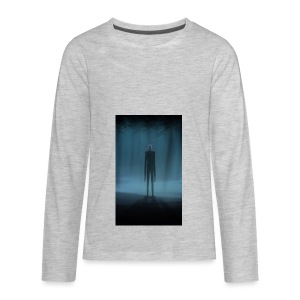 Creepy Forest Person - Kids' Premium Long Sleeve T-Shirt