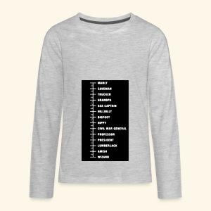 IMG 20180225 003205 - Kids' Premium Long Sleeve T-Shirt