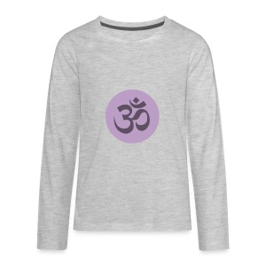 om - Kids' Premium Long Sleeve T-Shirt