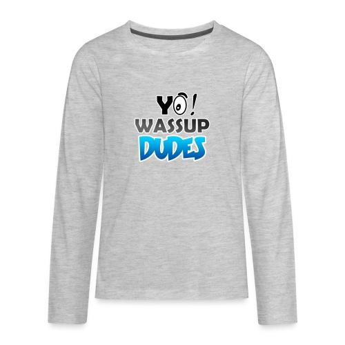 Official CaseyDude Merch! - Kids' Premium Long Sleeve T-Shirt