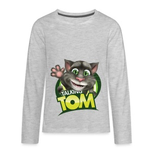 Talking_TOM_wave_preview_lowRes - Kids' Premium Long Sleeve T-Shirt