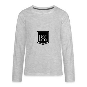 KODAK LOGO - Kids' Premium Long Sleeve T-Shirt