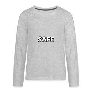 S.A.F.E. CLOTHING MAIN LOGO - Kids' Premium Long Sleeve T-Shirt