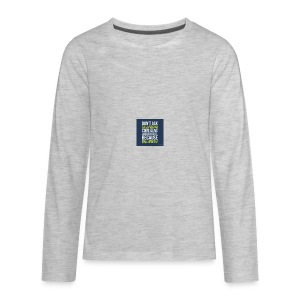 the world needs is people to come alive - Kids' Premium Long Sleeve T-Shirt
