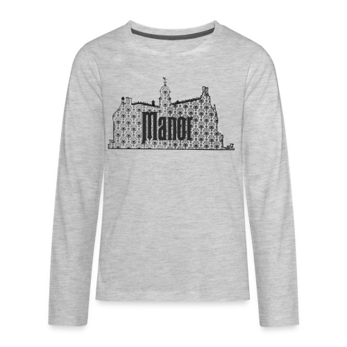 Mind Your Manors - Kids' Premium Long Sleeve T-Shirt