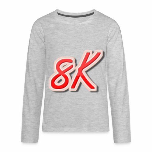 8K - Kids' Premium Long Sleeve T-Shirt