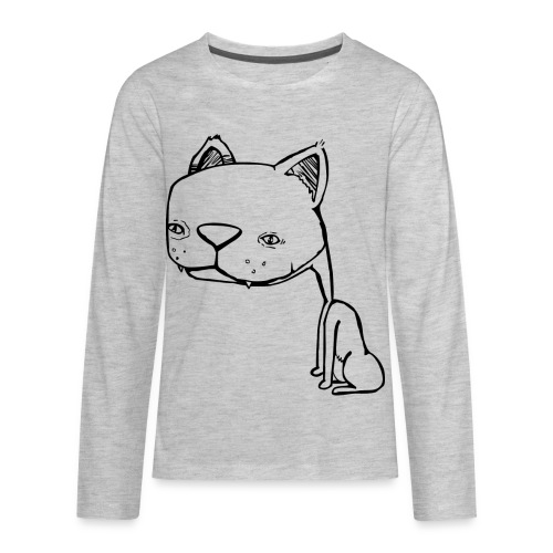 Meowy Wowie - Kids' Premium Long Sleeve T-Shirt