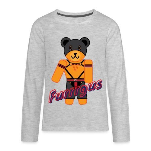 Leather Furrrgus - Kids' Premium Long Sleeve T-Shirt
