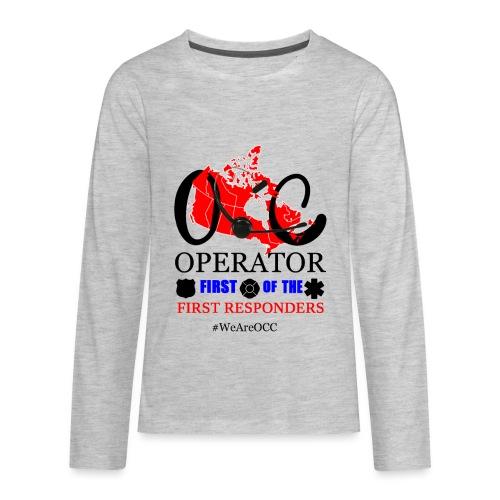 We Are OCC english - Kids' Premium Long Sleeve T-Shirt