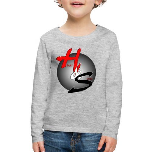 Heart & Soul Concerts official Brand Logo - Kids' Premium Long Sleeve T-Shirt