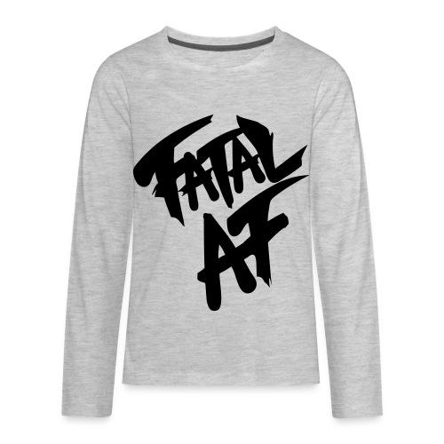 fatalaf - Kids' Premium Long Sleeve T-Shirt