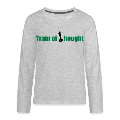 Train of Thought - Kids' Premium Long Sleeve T-Shirt