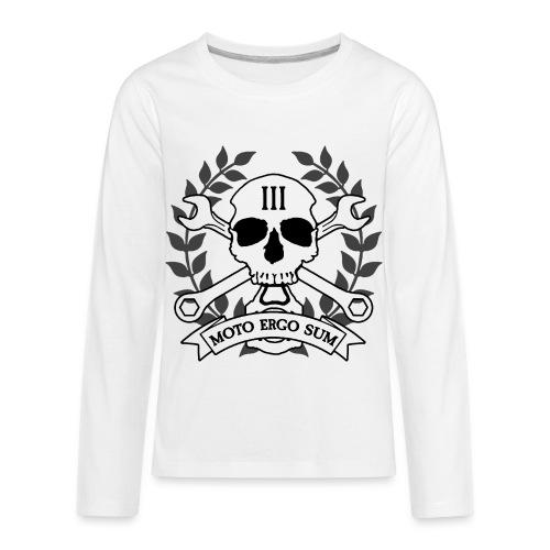 Moto Ergo Sum - Kids' Premium Long Sleeve T-Shirt