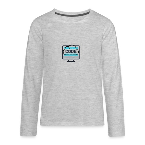 #CodesIsTheBestOwner - Kids' Premium Long Sleeve T-Shirt