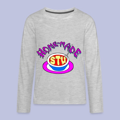 home made stu Logo - Kids' Premium Long Sleeve T-Shirt