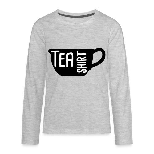 Tea Shirt Black Magic - Kids' Premium Long Sleeve T-Shirt