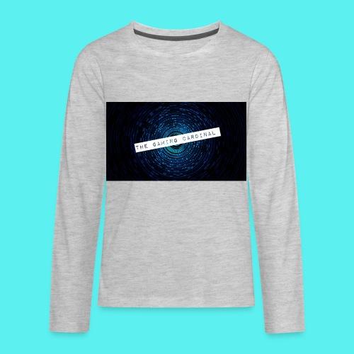 custom anner - Kids' Premium Long Sleeve T-Shirt