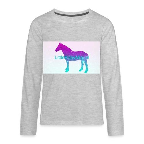 LittleBabyMiguel Products - Kids' Premium Long Sleeve T-Shirt