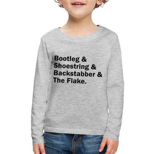 Dayton Ave - Kids' Premium Long Sleeve T-Shirt