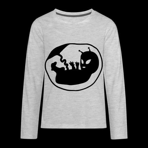 Alien Fetus by bmx3r - Kids' Premium Long Sleeve T-Shirt