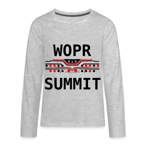 WOPR Summit 0x0 RB - Kids' Premium Long Sleeve T-Shirt