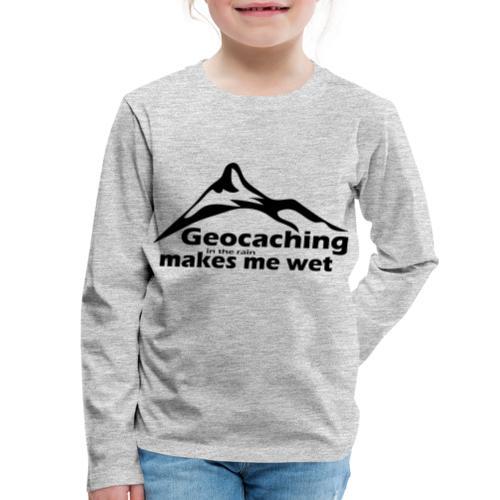 Wet Geocaching - Kids' Premium Long Sleeve T-Shirt