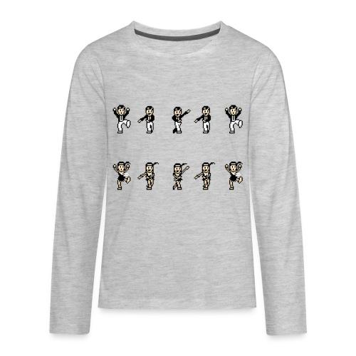 flappersshirt - Kids' Premium Long Sleeve T-Shirt