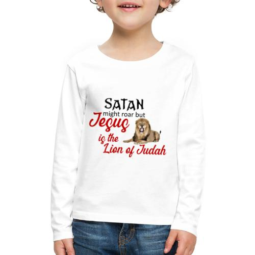 Lion of Judah - Kids' Premium Long Sleeve T-Shirt