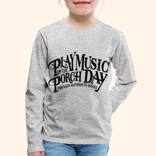 shirt4 FINAL - Kids' Premium Long Sleeve T-Shirt