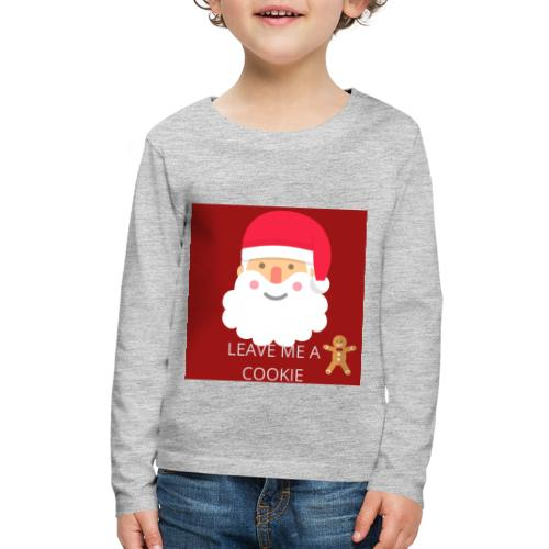 Santa Leave Me A Cookie - Kids' Premium Long Sleeve T-Shirt