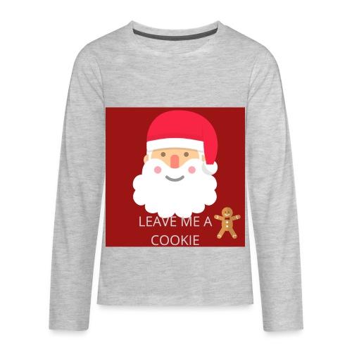 Santa Leave Me A Cookie - Kids' Premium Long Sleeve T-Shirt