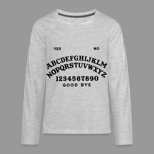 Talking Board - Kids' Premium Long Sleeve T-Shirt