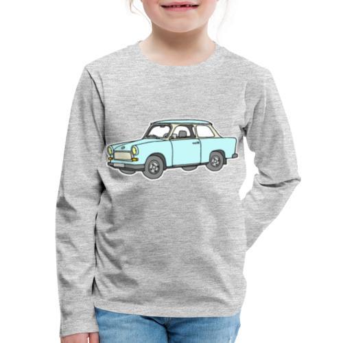 Trabant (lightblue) - Kids' Premium Long Sleeve T-Shirt