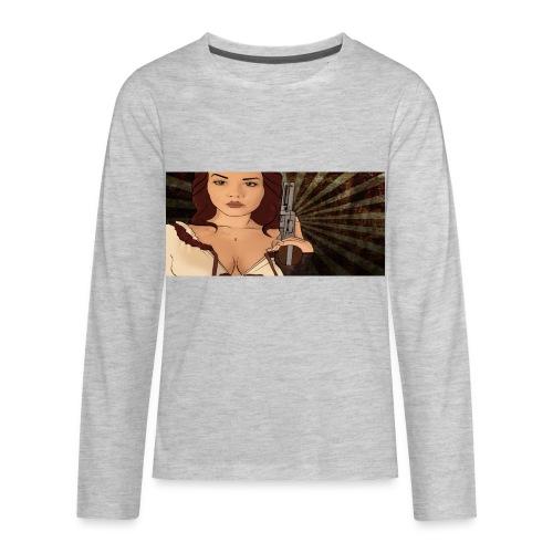 jjj copy png - Kids' Premium Long Sleeve T-Shirt
