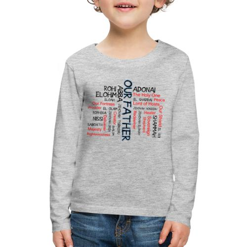Names of God - Kids' Premium Long Sleeve T-Shirt