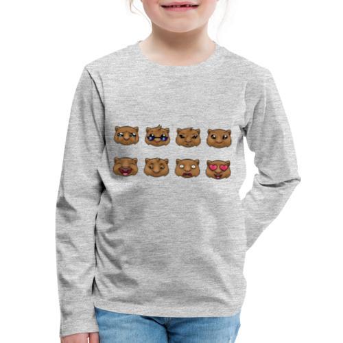 Wombat Feelings - Kids' Premium Long Sleeve T-Shirt