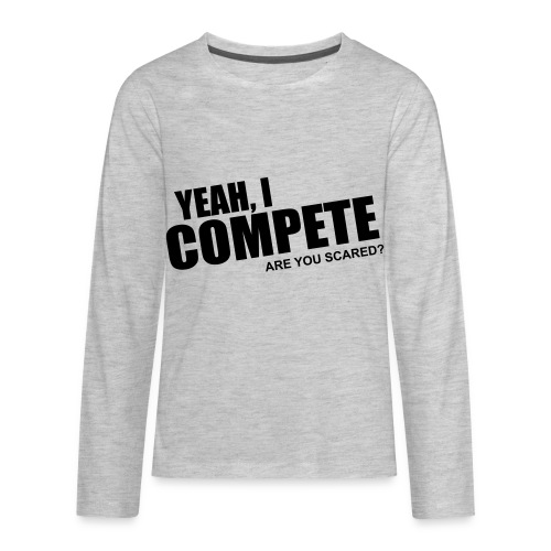 compete - Kids' Premium Long Sleeve T-Shirt