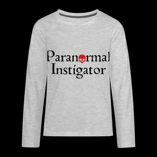 Paranormal Instigator - Kids' Premium Long Sleeve T-Shirt