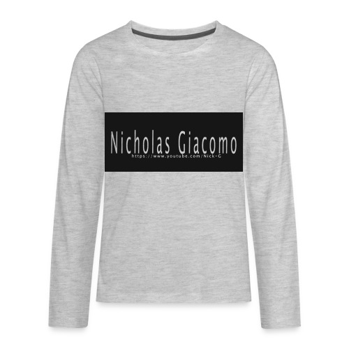 Nick_logo_shirt - Kids' Premium Long Sleeve T-Shirt